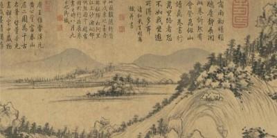 黄公望的《富春山居图》,放大20倍后,发现一个隐藏很深的秘密!