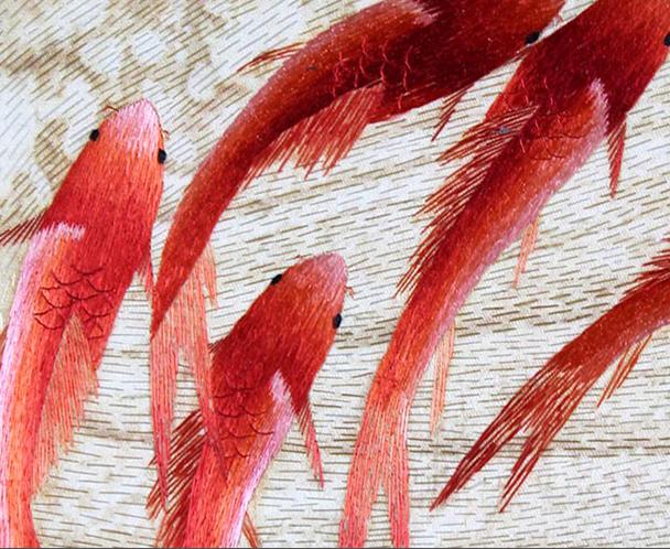 牡丹九鲤图 (8)
