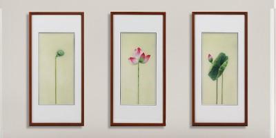 新中式客厅画 刺绣让你爱上中国风
