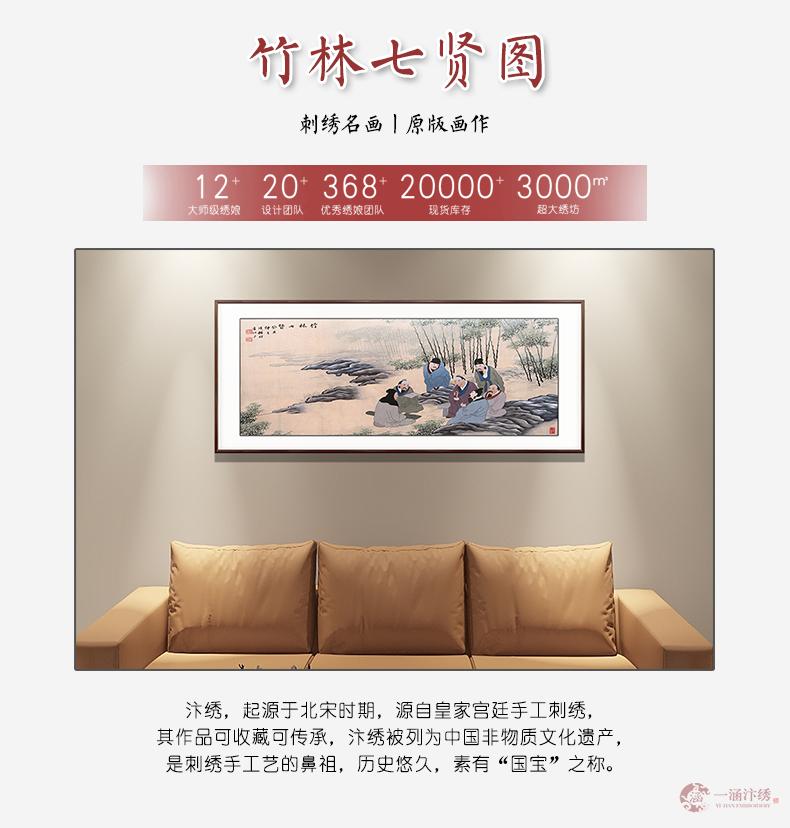 七贤图(1)