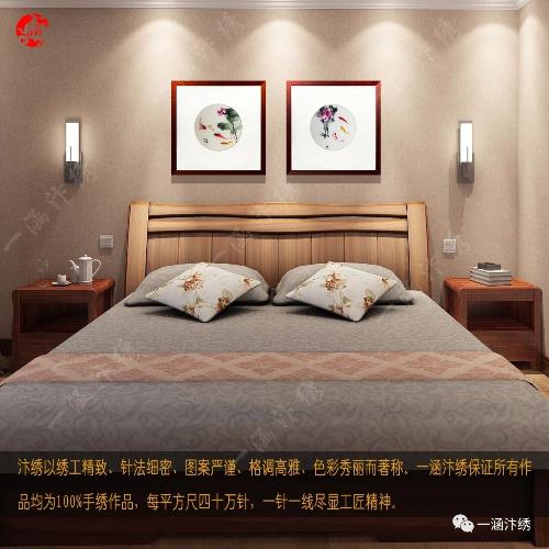 卧室挂什么样的画?选好画更温馨