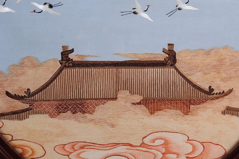 聚瑞图手工刺绣细节展示