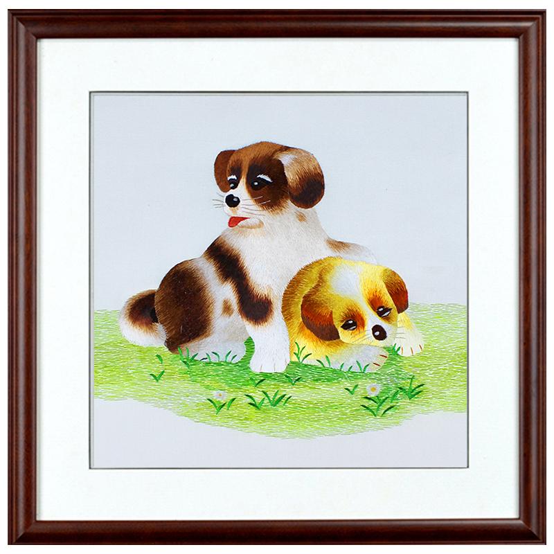 480元小狗,画心35-35,外框55-55