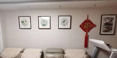 冬季来了:精心搭配的客厅画给家人的温暖