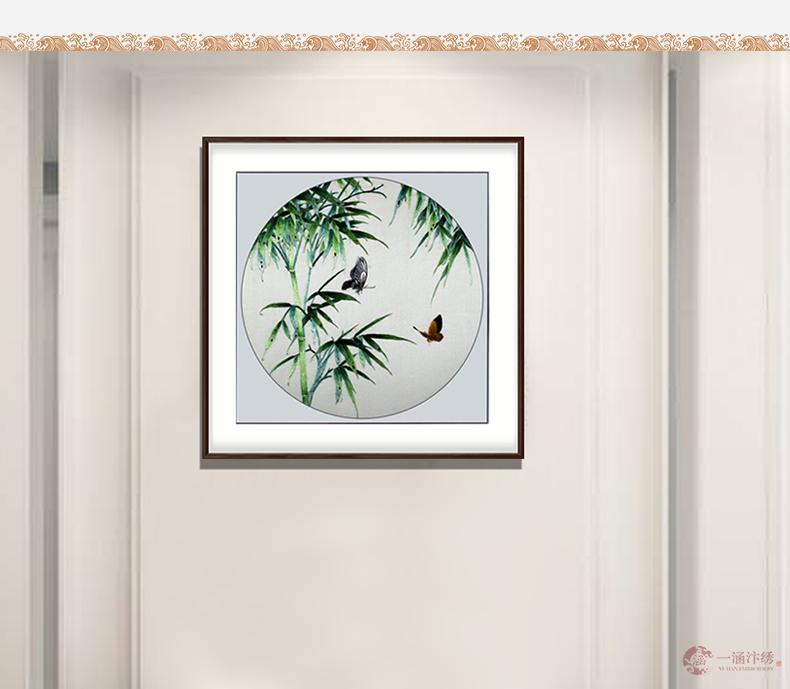 蝶与竹 (6)