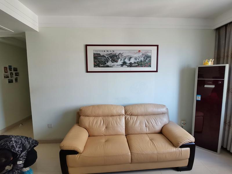 客厅装饰画 汴绣山水画源远流长
