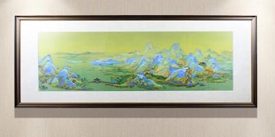 千里江山图2比1