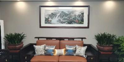 客厅挂画源远流长 用一种情怀装点家居